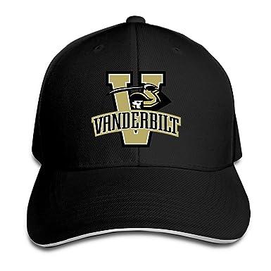 online store 37505 c794a ... closeout bff hats fashion baseball cap comfortable vanderbilt  university hat black 7ed31 b45eb