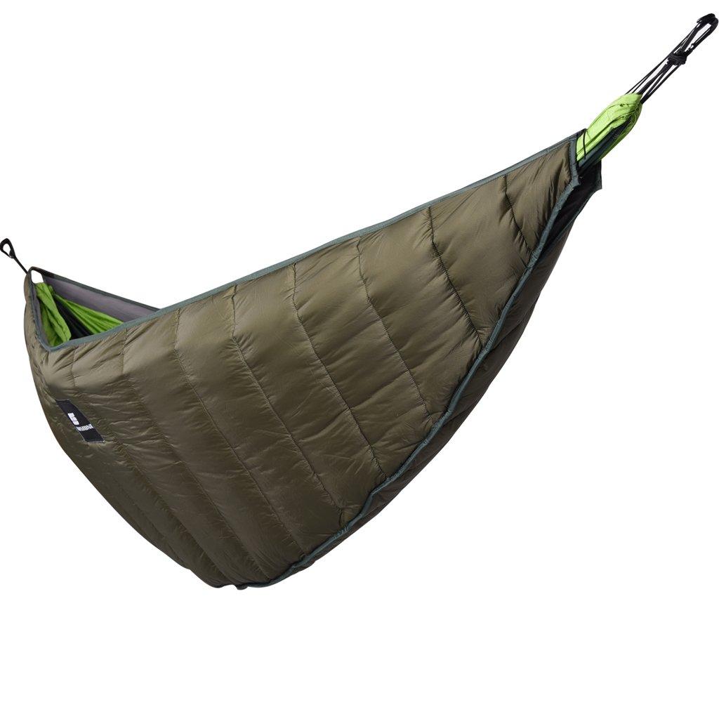 Sharplace Wandern Camping Outdoor im Freien Übernachten Hängematten Underblanket Underquilt schützt vor Kälte von unten