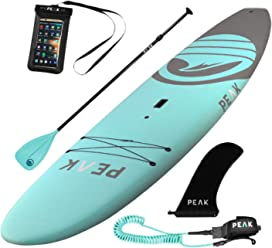 PEAK 10'5 Escape Soft Top Aqua Stand Up Paddle Board