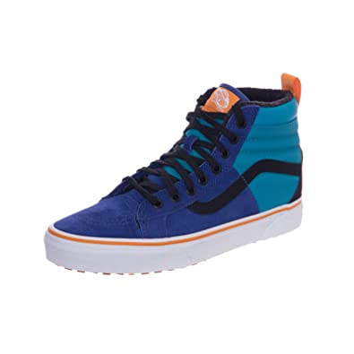 4b50fcdc02c Vans - Chaussures Baskets Mode - SK-8 Hi MTE DX Mazarine Bleu ...