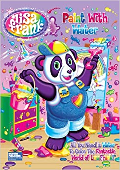 lisa frank paint with water activity book - Paint With Water Coloring Books