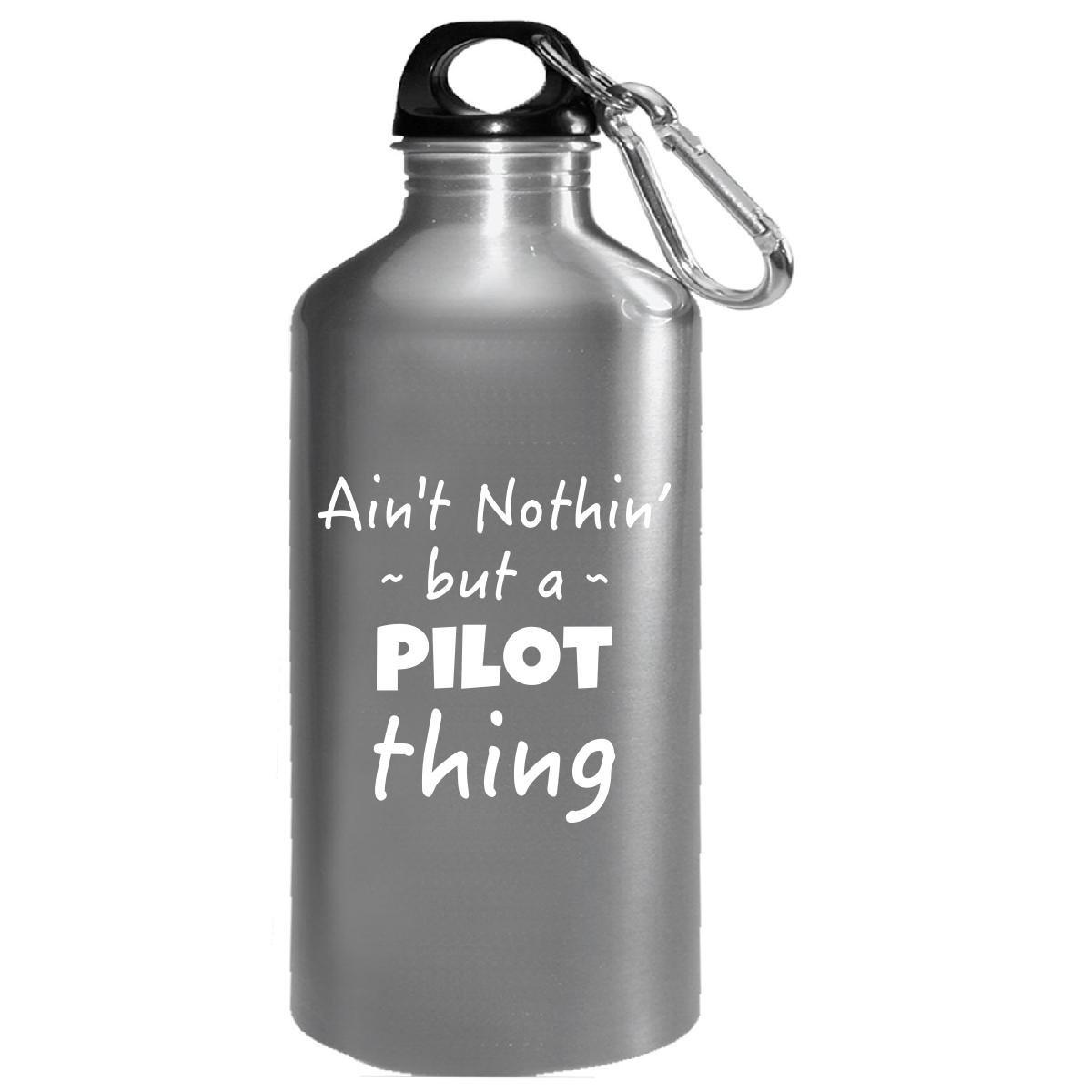 パイロットThing Careerジョブと趣味Pride Saying – 水ボトル B0781N1TD1