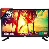 """TV LED 24"""", Philco Smart PTV24N91SA, Preto"""