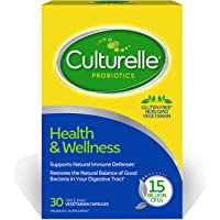 Culturelle Health & Wellness Daily Probiotic Dietary Supplement | Restores Natural Balance of in Digestive Tract* | With…