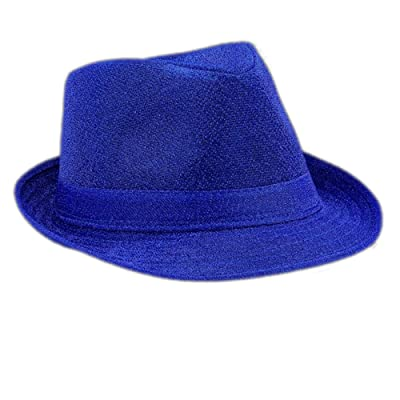 blinkee Soft Blue Fabric Fedora Hat Non Light Up by: Toys & Games