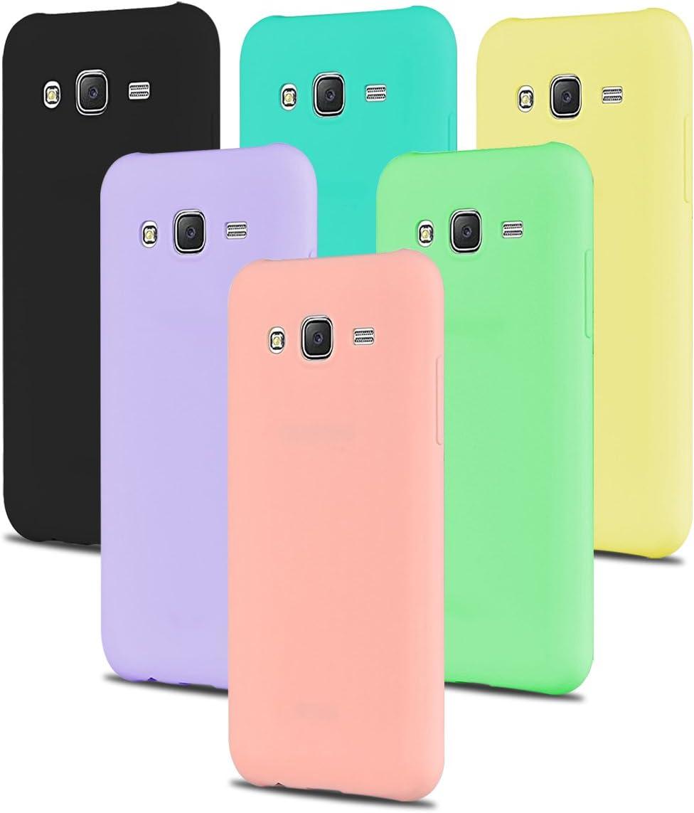 SpiritSun 6 x Coque Galaxy J5 2015, Etui Coque TPU Slim Bumper ...
