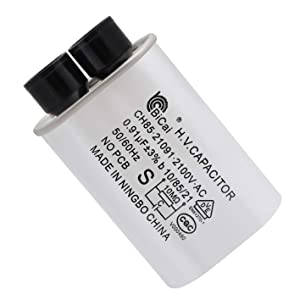 Ketofa H.V. Capacitor for Microwave Oven Replace GE RCA Hotpoint 13QBP21090 13QBP0299 WB27X10011