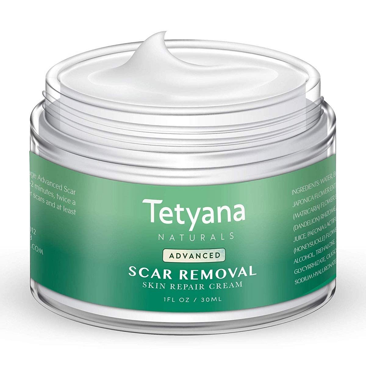 Amazon Com Scar Removal Cream Advanced Treatment For Old New Scars From Cuts Stretch Marks C Sections