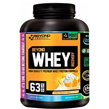 Beyond Yourself - Beyond Whey Recovery - Whey Protein Powder Supplement  (Orange Pineapple Twist e5cce20e36b79