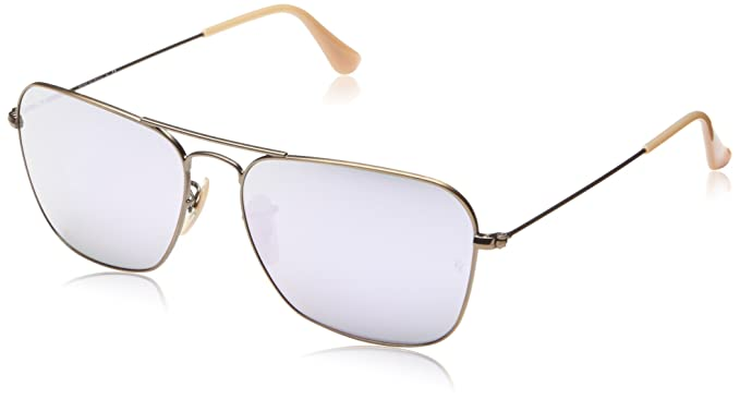 53d095b738004 Amazon.com  RAY-BAN Caravan Aviator Sunglasses Gold 58 mm  Ray-Ban ...