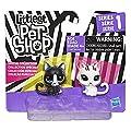 Littlest Pet Shop Black & White Kitten BFFs from Hasbro