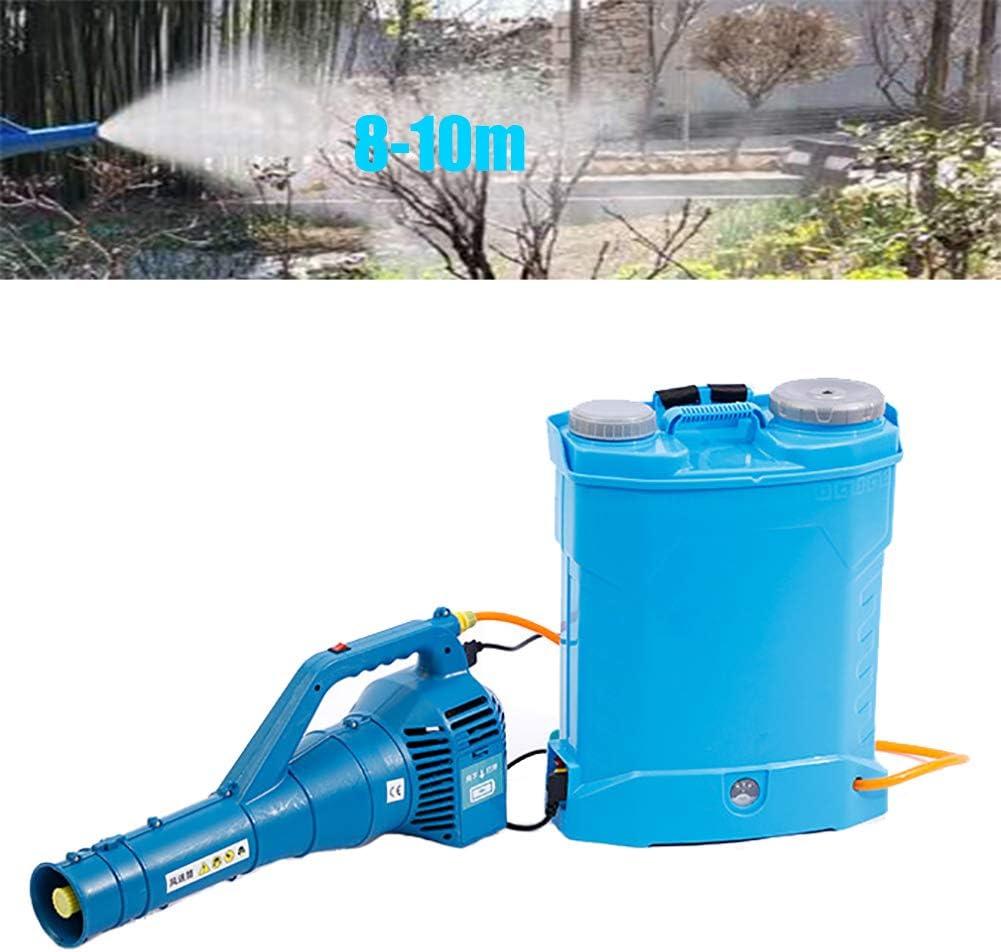 GNZY Portátil Eléctrica Pulverizador, Pulverizador Eléctrico Utilizado para Desinfección por Aspersión En Huerto (9000 R/Min)
