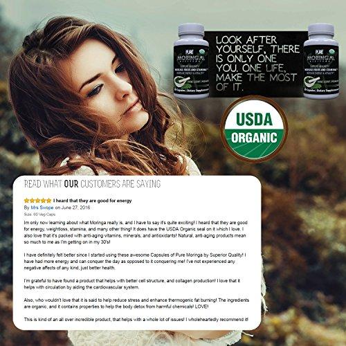 photo Wallpaper of Paradigm Pure-USDA Organic Moringa Capsules | 100% Pure-
