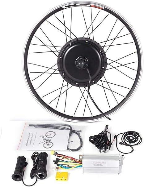 LOLTRA MTB Kit de conversión para Bicicleta eléctrica, 36 V, 250 W, 350 W, 500 W, Llantas de aleación, para Bicicleta de montaña, Bicicleta eléctrica, Ruedas traseras sin Pantalla: Amazon.es: Deportes y aire libre