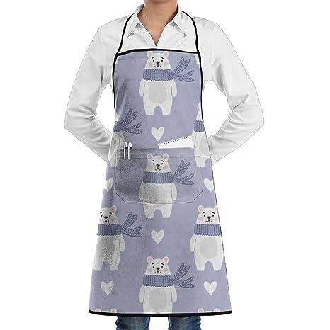 Bonito abrigo para cocina, para hombre y mujer, para restaurante, cafetería, cafetería
