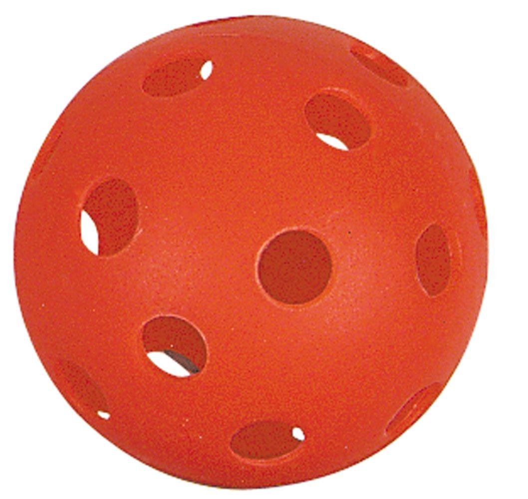 Markwort Baseball Pliable Plastic Balls in Retail Package, Scarlet, 9-Inch by Markwort