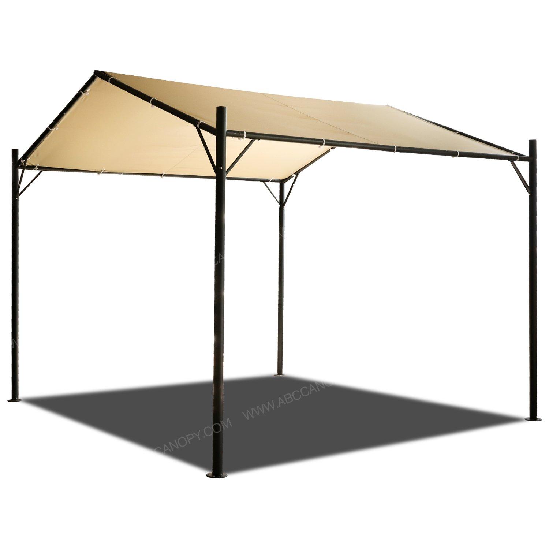 ABCCANOPY 10x10 Patio Garden Gazebo Style Outdoor Canopy Carport Garden Instant Shelter, Beige