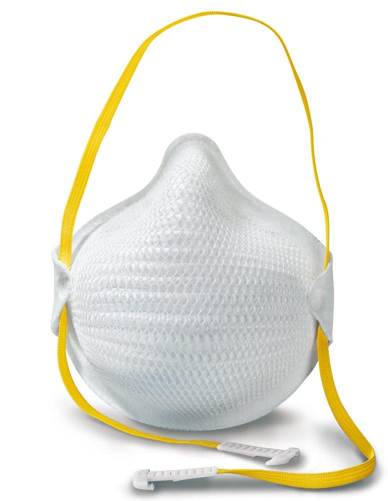Moldex 3250 Size Small/Medium FFP3 NR D'Air' Respiratory Mask - White (10-Piece)