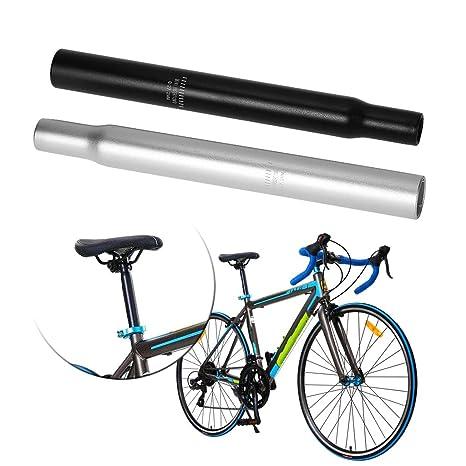 Lergo - Tija de sillín para Bicicleta, aleación de Aluminio, 27,2 ...