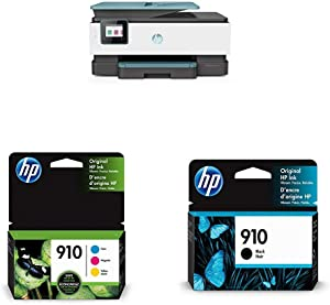 HP OfficeJet Pro 8035 All-in-One Wireless Printer - Oasis (3UC66A) with Ink Cartridges - 4 Colors