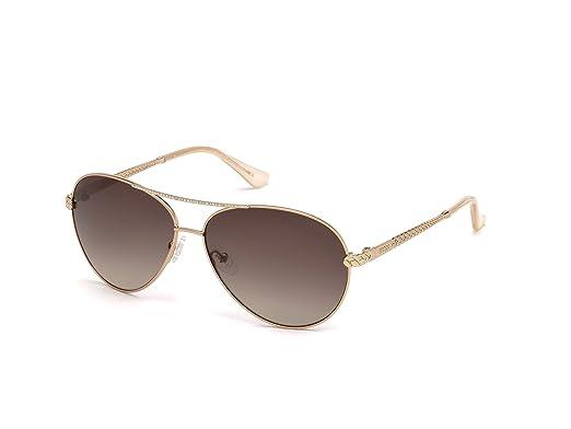 3f5115be72ee Amazon.com  GUESS Women s Gu7470-s Aviator Sunglasses