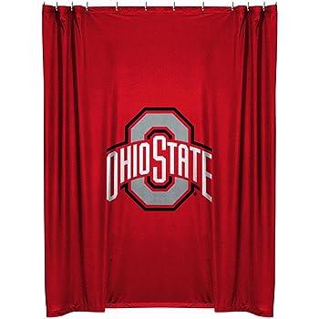 NCAA Bedroom Shower Curtain