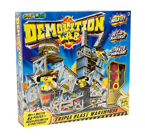 SmartLab Toys Demolition Lab Triple Blast Warehouse