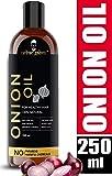 Urbangabru Onion Oil for Hair Growth and Skin Care 250 ml with 15 Essential Oils and Other Powerful Ingredients Like Amla, Bhringraj,Bhrami, Sandalwood, Castor, Argan, Sunflower, 250 ml