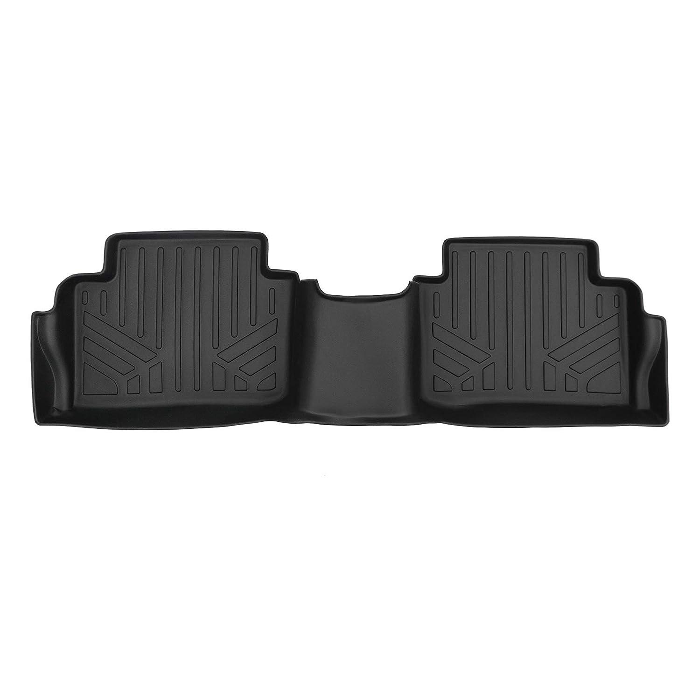 SMARTLINER Custom Fit Floor Mats 2nd Row Liner Black for 2018-2019 Hyundai Kona
