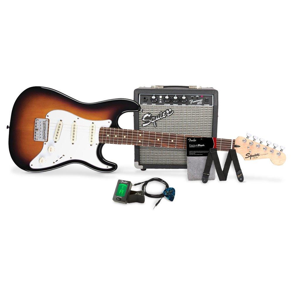 Amazon Squier By Fender Stratocaster Short Scale Beginner