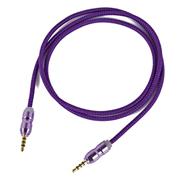 Asamoom 3,5 mm AUX Kabel Stecker zu Stecker Stereo: Amazon.de ...