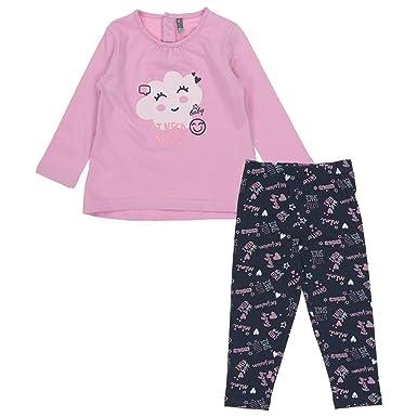1afc8006d0755 Losan Baby Girls Cloud Leggings Set Navy / Blue / Pink 3-6 months