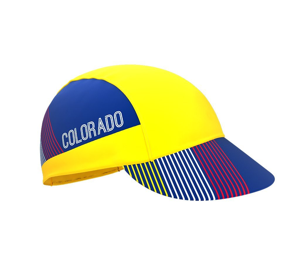 Colorado Bike Cycling Cap