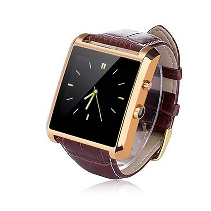 Canis lujo reloj inteligente Bluetooth 4.0 SmartWatch con correas ...