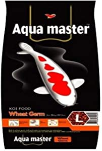 Aqua Master Wheat Germ Fish Food, 2.2-Pound/Bag, Large