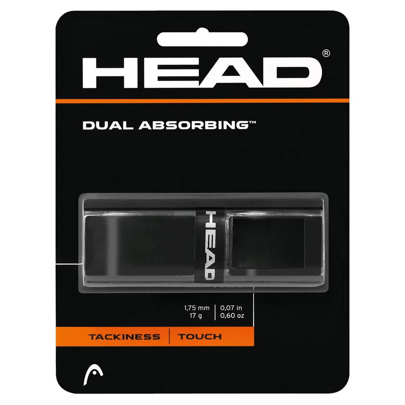 Head Dual Absorbing Grip, Unisex, Negro, Talla Única: Amazon.es ...