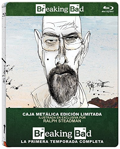 Breaking Bad - Temp. 1 Metalico - Bd [Blu-ray]: Amazon.es: Anna Gunn, Aaron Paul, Bryan Cranston, Vince Gilligan, Anna Gunn, Aaron Paul, Vince Gilligan: Cine y Series TV