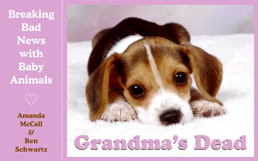 Grandmas Dead Breaking News Animals product image