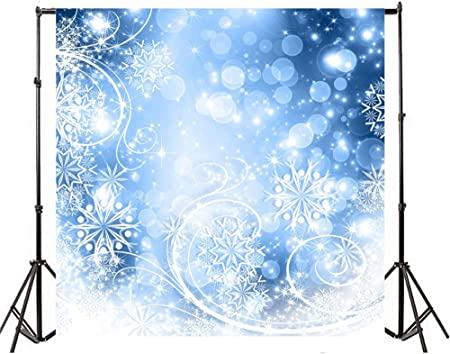 Dreamlike Snowflake Backdrop 10x10ft Polyester Fantastic Dreamland ...