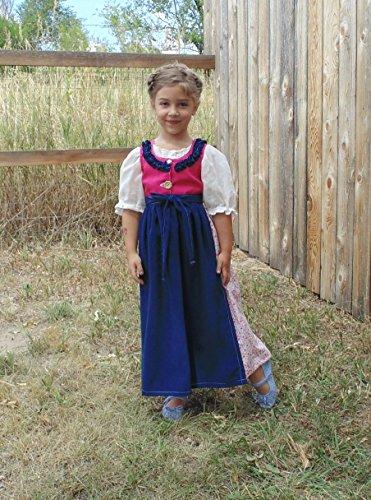 Girls 4-5 Folk Dress complete (Halloween Contests)