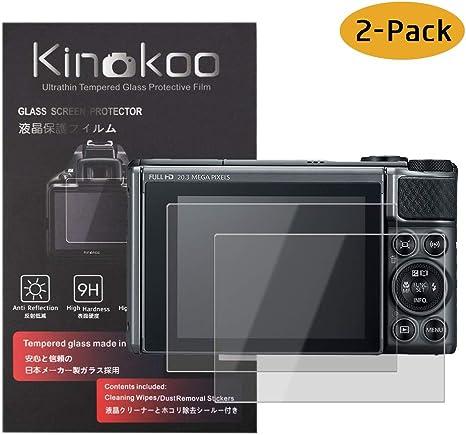 3x Canon PowerShot SX620 HS Película Protectora De Pantalla De Vidrio De Protección