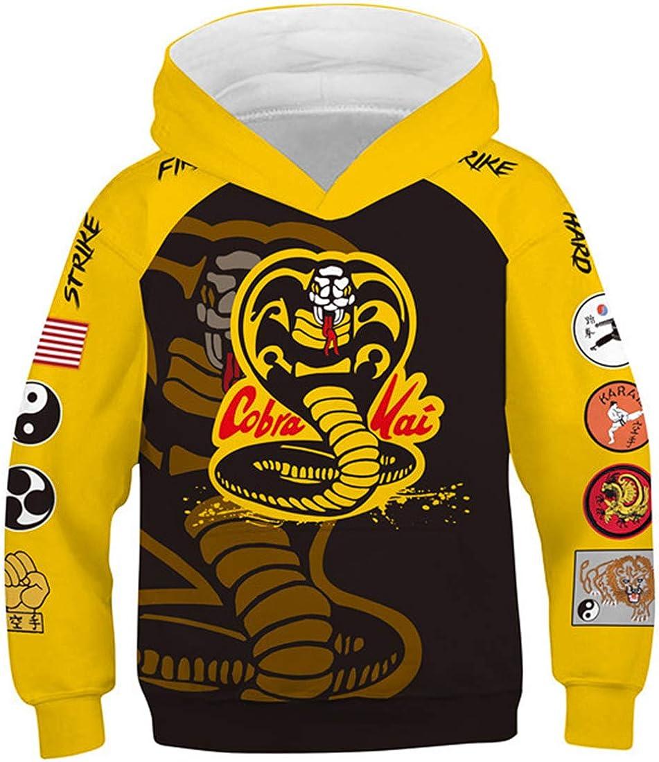 Felpa Bambino con Cappuccio Kids//Youth Plus Velvet Hoodies He-nRY da-NG-eR Childrens 3D Print Winter Hooded Sweatshirt