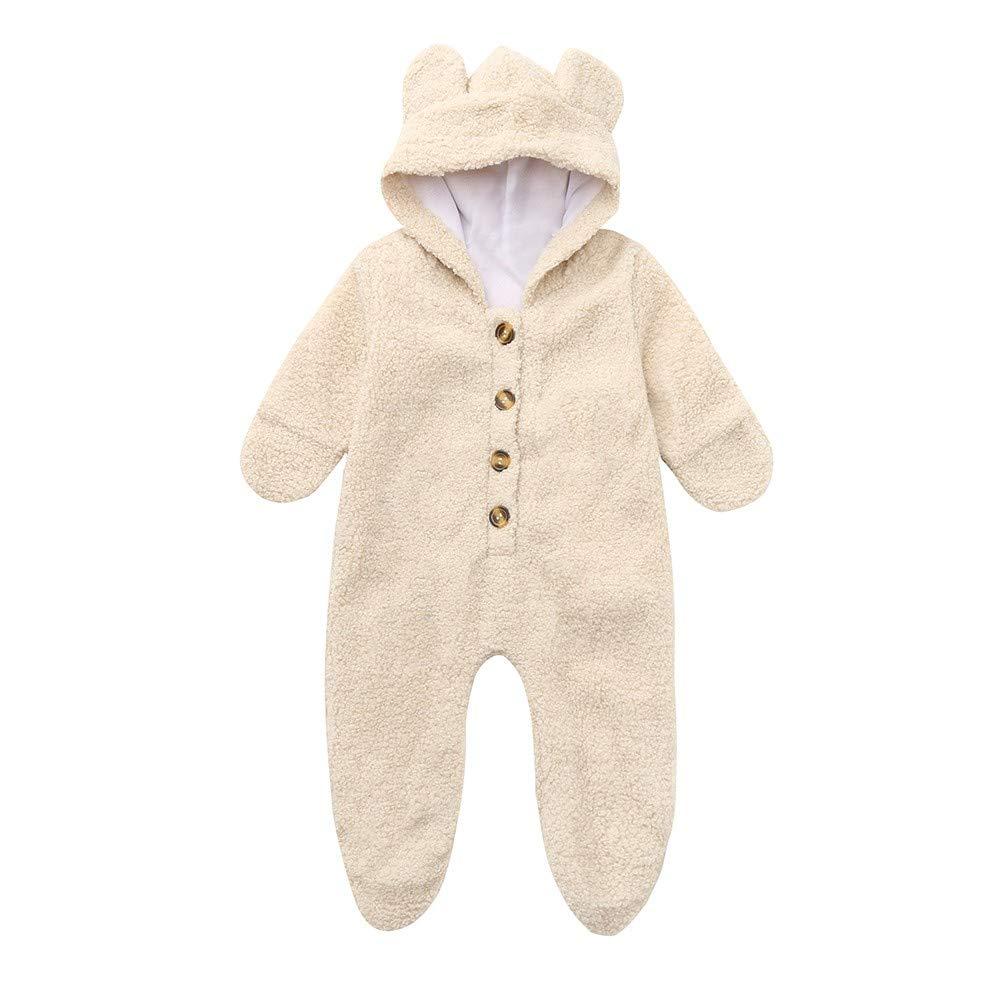 Mono bebé Otoño Invierno, LANSKIRT Recién Nacidos Bebé Niñas Niños ...