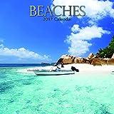 "Beautiful Tropical Paradise Beaches 2017 Monthly Wall Calendar, 12"" x 12"""
