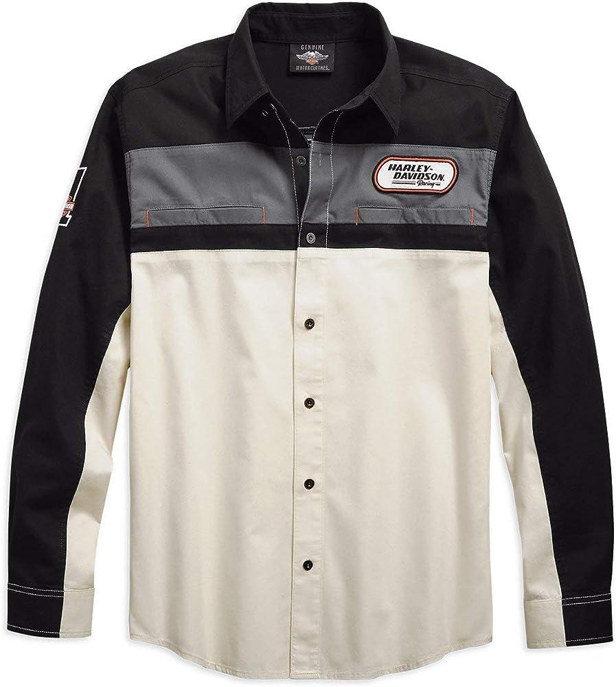HARLEY-DAVIDSON - Camiseta - Hombre Off White XXXXX-Large: Amazon.es: Ropa y accesorios