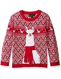 Boys' Llama Xmas Sweater