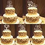 Bazaar Mr Mrs Wedding Cake Topper Cheer Up Cake Decorating Tool Wooden Stand Craft For Party Favor Supplies