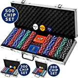 Professional 500 Chips (11.5g) Poker Set with