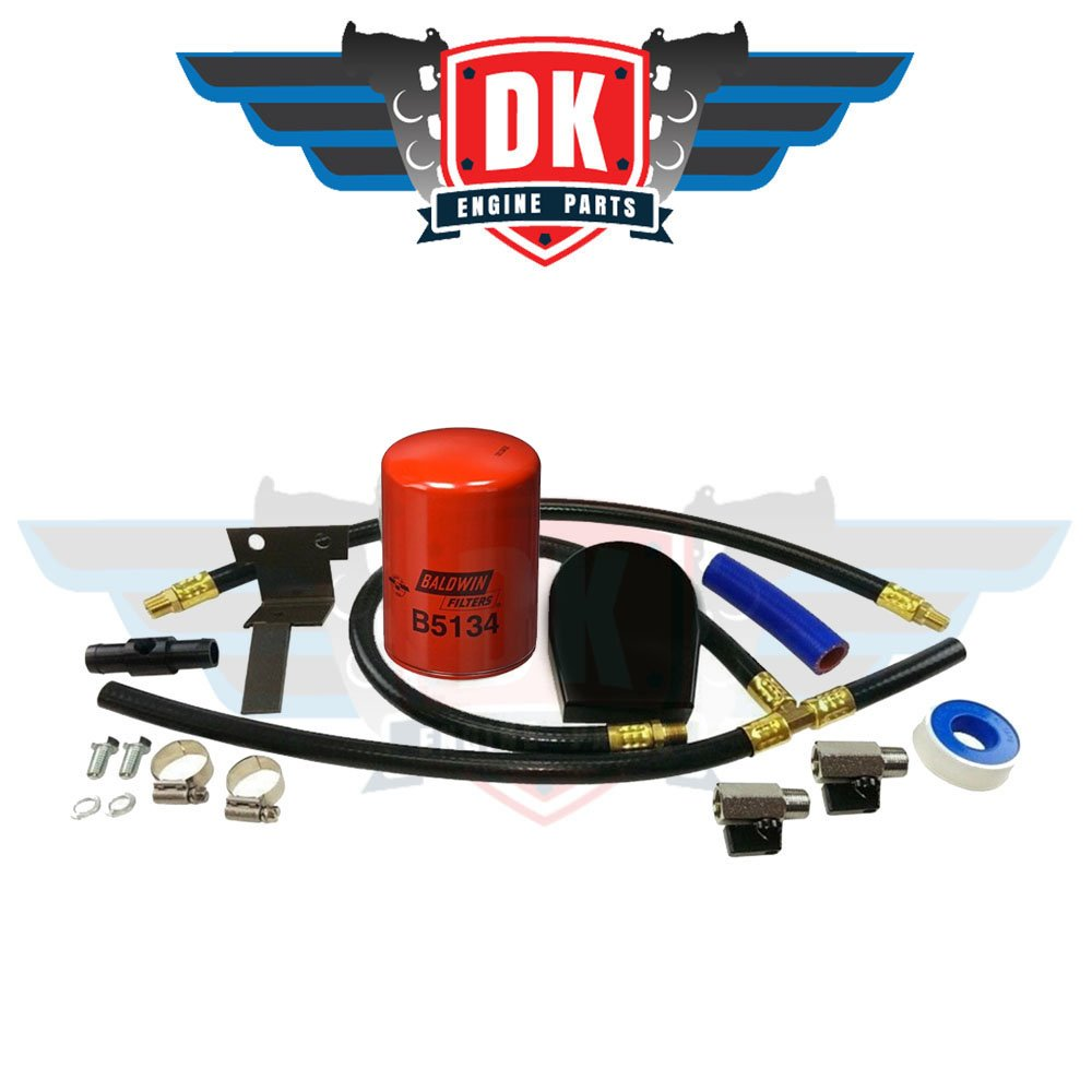 Black Coolant Filtration Kit - Ford 6.0L Powerstroke 2003-2010