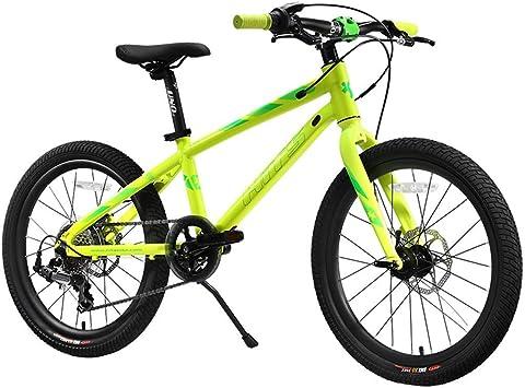 Bicicleta para niños Hakka 6-7-8-9-10 años Cochecito de niño, niña, Escuela Primaria, Bicicleta, 7 velocidades, 20 Pulgadas: Amazon.es: Deportes y aire libre